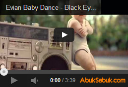 Evian Baby Dance - Black Eyed Peas Pump It